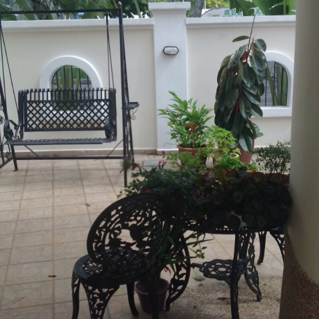 Wrought Iron Garden Swing Furniture Others On Carousell