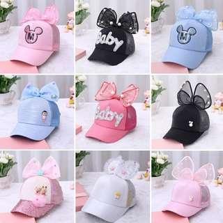Bow design cap (adult /children)