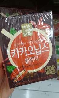 韓國代購!甩脂勝品!韓國製生可可仁黑茶