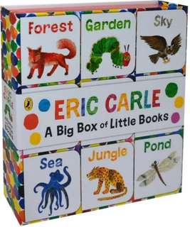 A Big Box of Little Books by Eric Carle