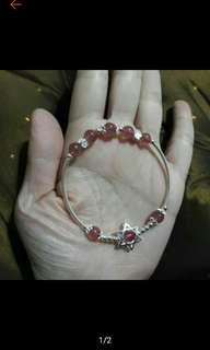 高檔草莓晶+s925銀