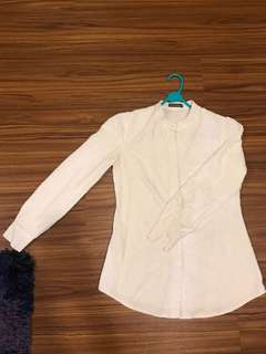 POPLOOK Fully Embroidered Button Shirt
