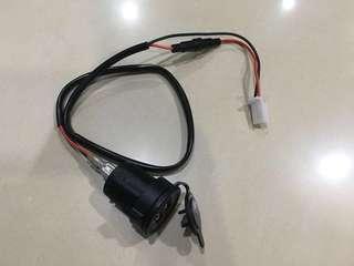 防水 3.1A 雙USB充電座  機車充電 供電 平板 行車記錄器可充電