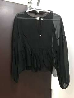 Aritzia-Wilfred blouse