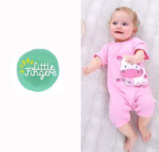 Baby Short-Sleeved Jumpsuit