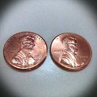 2006/2007 年美金一仙硬幣 ONE CENT