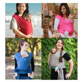 MOBY WRAPPED BABY CARRIER