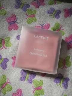 Laneige calming quick toner pack (10pcs)