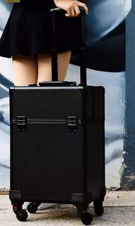 [Preorder] Professional make up makeup cosmetic luggage trolley case bag