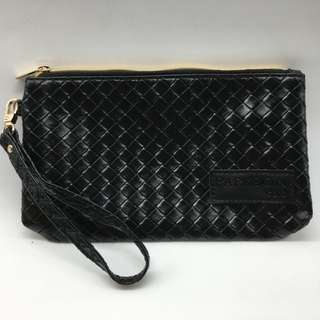 Brand New Synthetic Leather Wristlet Pouch
