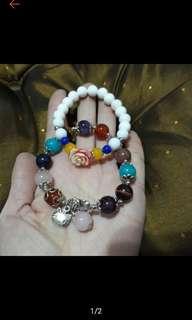 多寶手珠+硨磲手珠