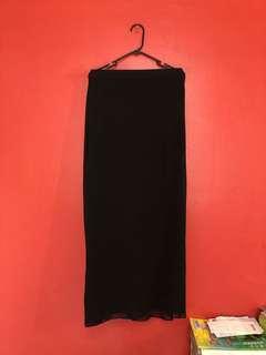 H&M Maxi sheer skirt