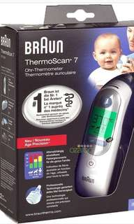 Bruan thermoscan 7