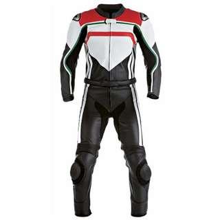 Biker Leather Racing Suit