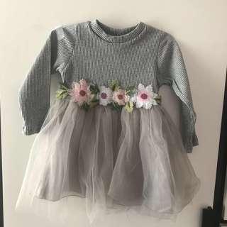 Baby Girl Floral Dress BB女花花裙