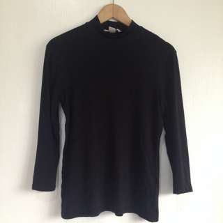 H&M basic turtleneck top