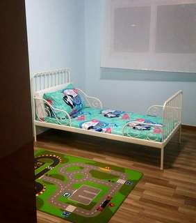Ikea extendable bed frame