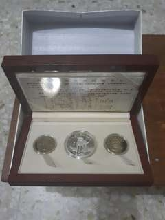Taiwan China Year of Dog Commemorative Coin Set