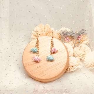 $20 全新糖果粉色系耳環