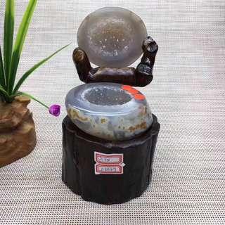 0.65Kg瑪瑙聚寶盆