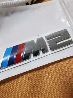 BMW M2 M Performance Metal Emblem