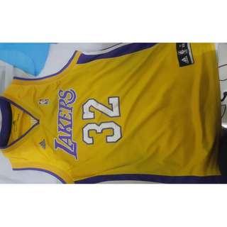 Baju Basket Magic Johnson Lakers