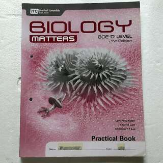 (*Cheap Clearance Sale!) Biology Matters (2nd Edition) 'O' Level