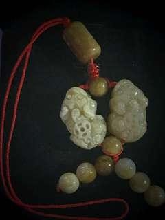 Grade A Coral Jade