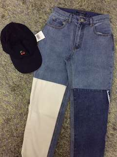 Brandy Melville Kenzo Pants and Cap