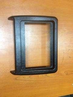 cover frame doubledin daihatsu l2 l2s kancil
