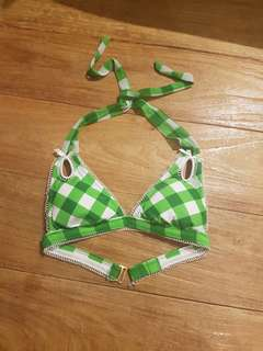 Betsey Johnson Patty Cakes Bikini Top