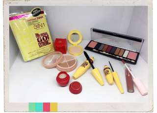 Paket make up murah meriah mac contour 2