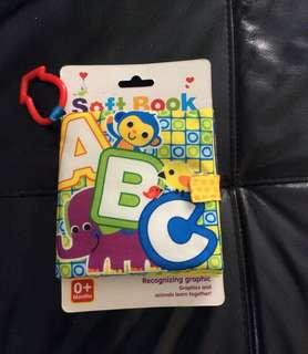 Baby soft book