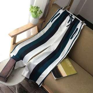 Western styles Stripe Long Pants