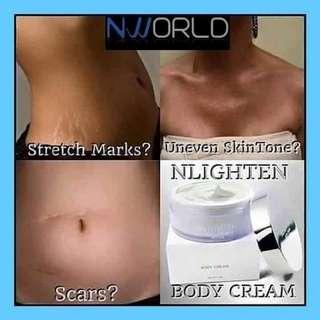 Whitening and Moisturizer Body Cream