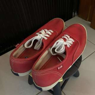 AUTH KEDS (RED-US 6.5)