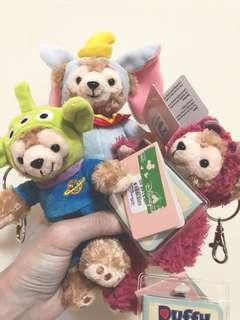 迪士尼 香港 限定 達菲 熊抱哥