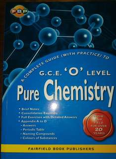 Pure Chemistry GCE 'O' Level Complete Guide