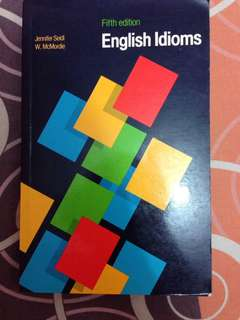 English Idioms Fifth edition