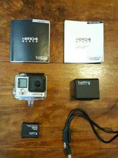 GoPro Hero 4 Black complete in box