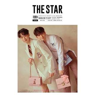 [PREORDER] WANNA ONE THE STAR MAGAZINE (GUANLIN&SEONGWOO) COVER
