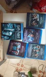 Harry Potter - The Complete 8-firm Blu-ray collection