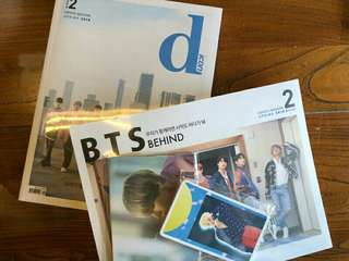 (全新)BTS DICON D社雜誌