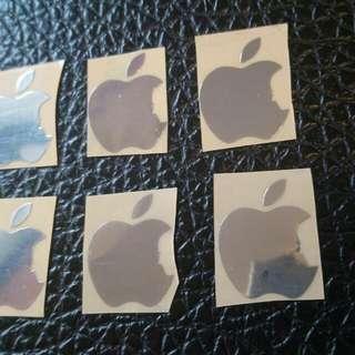iPhone貼 蘋果貼 賈伯斯 金屬貼 筆記本貼紙 電腦貼紙 手機貼紙 裝飾貼 金屬車貼 車標車身標誌 金屬薄貼 車貼