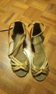 Beautiful Latin dance shoes