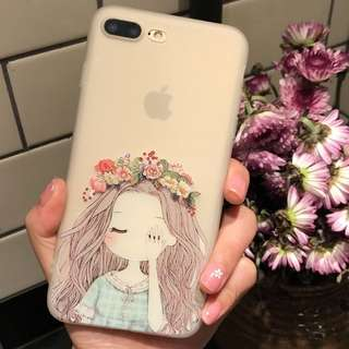 Little Princess Soft Silicon Case for iPhone 6, 6+, 6s, 6s+, 7, 7+, 8, 8+,