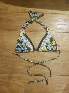 Betsey Johnson State Fair Bikini Top