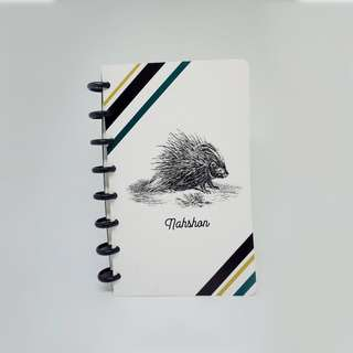 Personalized Handcrafted Notebook Sketchbook - Animalistic Series