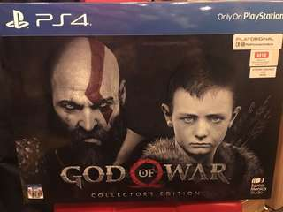 PS4 God Of War collected edition