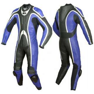 Motorcycle Leather Racing Suit